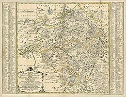 Schenk P Historische Karte Vogtland Vogtlandischer Kreis