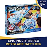Beyblade Burst Evolution Switchstrike Battle Tower – Includes 2-Level Beystadium, Battling Tops, & Launchers – Age 8+