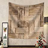 Niasjnfu Chen Custom tapestry Thai Bamboo Weaving Texture - Fabric Wall Tapestry Home Decor