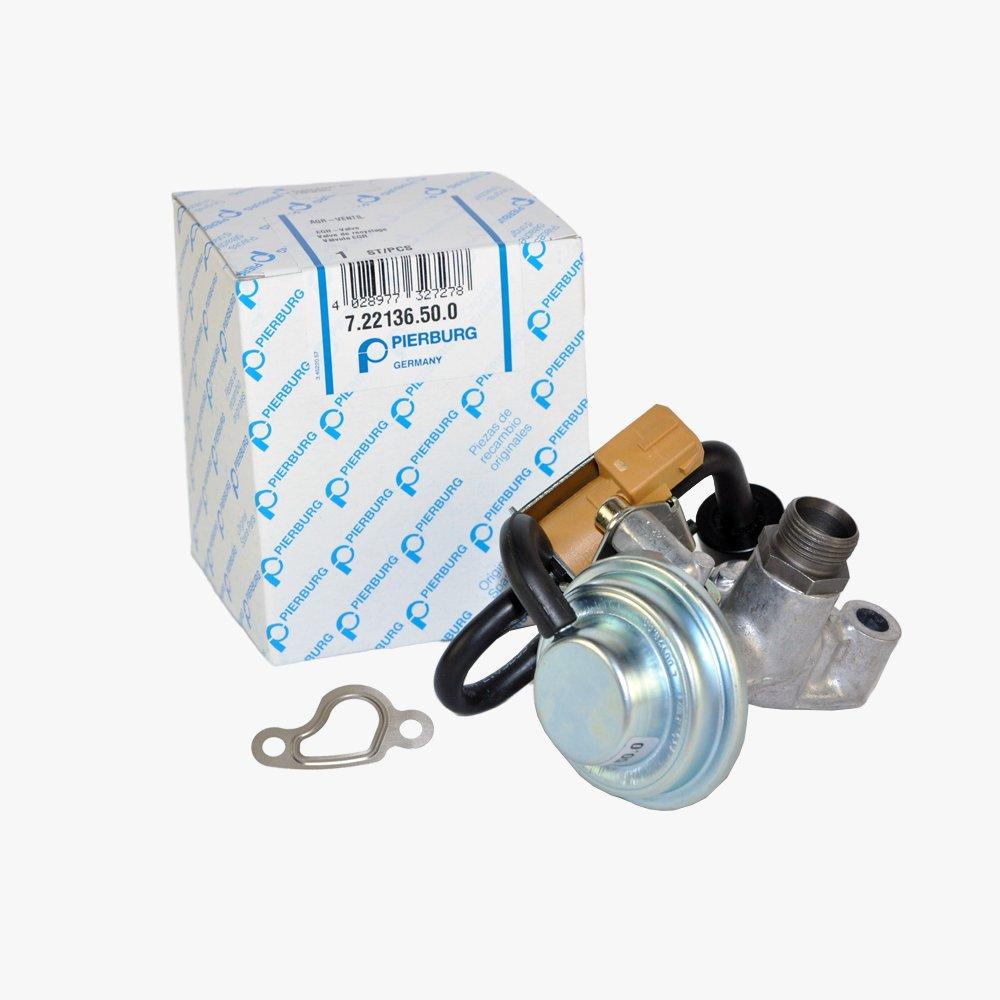 Mercedes-Benz EGR Valve Control Solenoid + Gasket Pierburg OEM 1120460/1120060