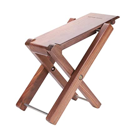 Peachy Amazon Com Wooden Guitar Foot Stool Folding Adjustable Ocoug Best Dining Table And Chair Ideas Images Ocougorg