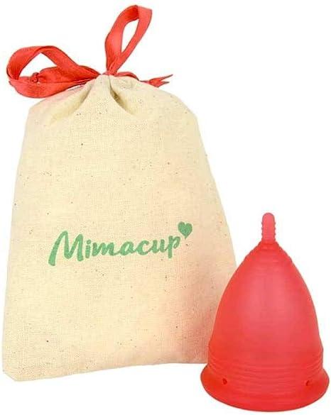 Mimacup Copa menstrual Mimacup Roja-: Amazon.es: Salud y ...