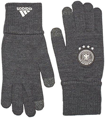 adidas Herren Handschuhe DFB Fußball, Grau/Weiß, L, AH5735