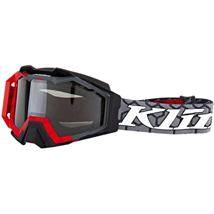 b320027e8165 Amazon.com  KLIM Viper Pro Snow Goggle Hive Red Smoke Polarized  Automotive