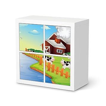 Creatisto Möbelaufkleber Für Ikea Expedit Regal 4 Türen