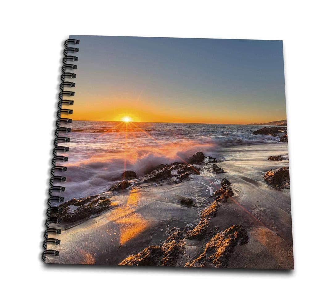 Ca Memory Book 3dRose db/_206049/_2 Sunset at Victoria Beach in Laguna Beach 12 by 12