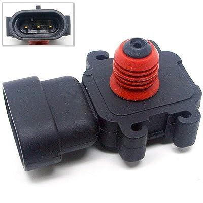 2 Bar MAP Manifold Sensor 12580698 For GM Camaro Firebird Corvette LS1 LS6 LSX: Automotive