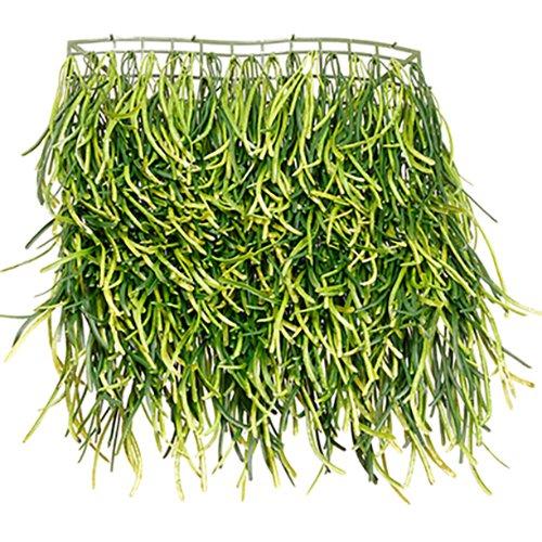 SilksAreForever 17''x12'' Grass Artificial Mat -Green (pack of 6) by SilksAreForever