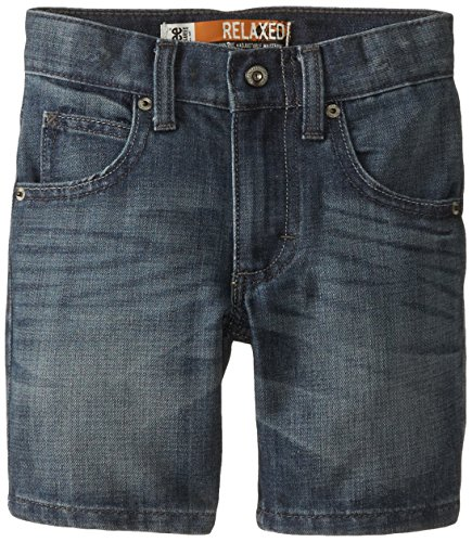 Basic 5 Pocket Denim Short (Lee Little Boys' Dungarees 5-Pocket Relaxed Short, Jetty,)