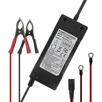Cargador de batería Inteligente portátil de 12 V 5 A con Pinza de ...