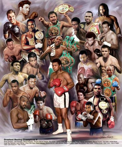 Greatest Boxing Champions II by Wishum Gregory