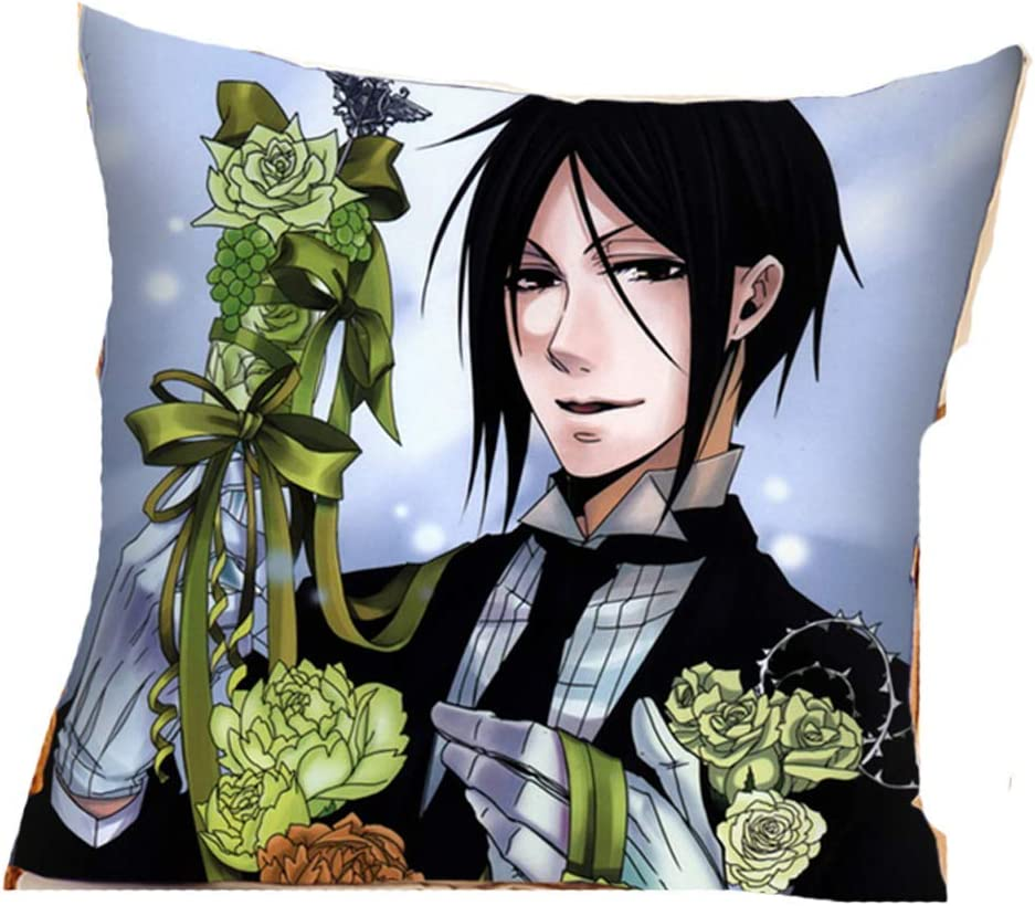 Black Butler Kuroshitsuji Pillow Cover