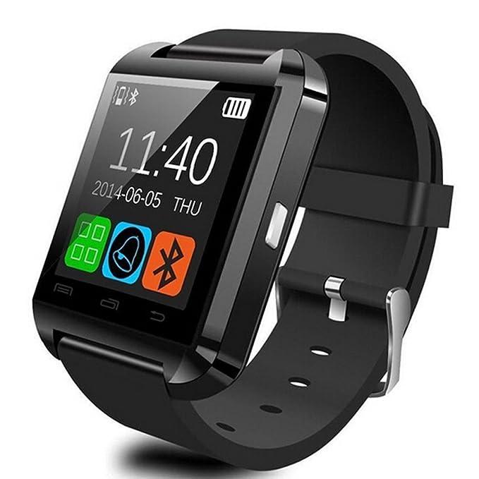 GroMate U8 Smartwatch Bluetooth Fitness Intelligente Orologio Watch with  Touch Screen Hands Free Mani Libere Altimetro