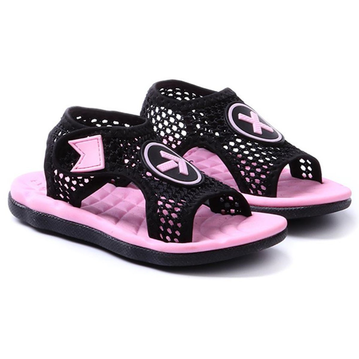 RVROVIC Kids Mesh Sports Sandals Aquatic Girls and Boys Water Shoe
