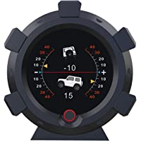 AUTOOL Car Angle GPS Slope Meter Car Inclinometer Level Tilt Gauge with Car HUD Speedometer MPH KMH for DC5-28V Off-Road…