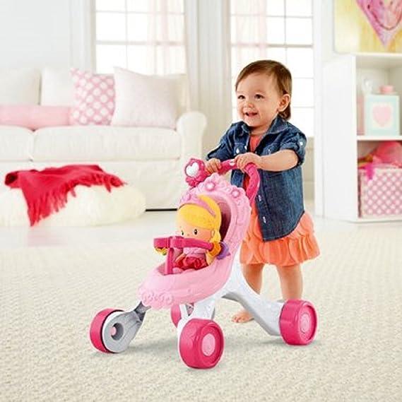 Princess Stroll Along - Andador musical y muñeca (set de ...