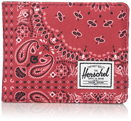 Herschel Supply Co. Men's Roy, Red Bandana, ONE SIZE