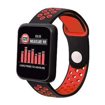 COLMI Sport 3 a Prueba de Agua en Tiempo Real del Reloj del Ritmo cardíaco del Monitor de presión Arterial: Amazon.es: Deportes y aire libre