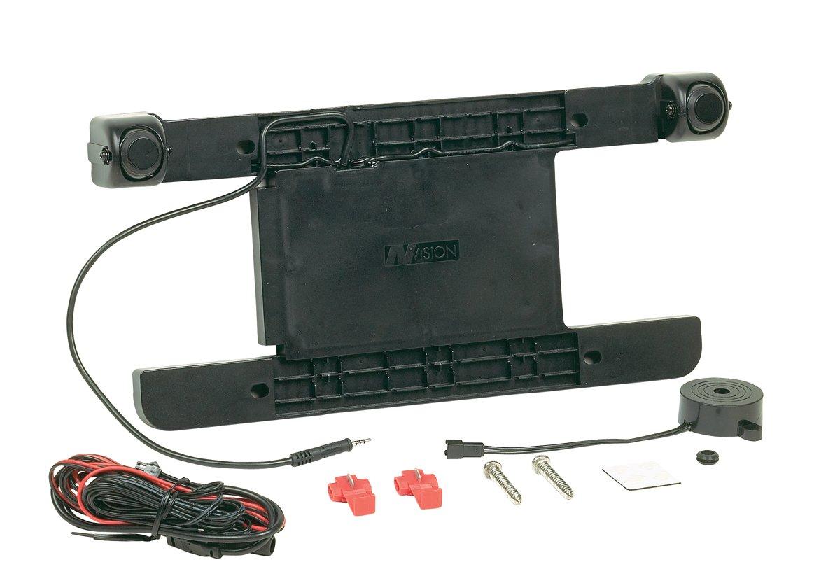 License Plate Frame Camera NoDrill - with 2 Radar Sensors