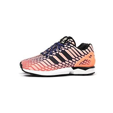 more photos c7306 5cafe Amazon.com   adidas ZX Flux W Women s Shoes Sun Glow Ink White aq8230 (10  B(M) US)   Fashion Sneakers