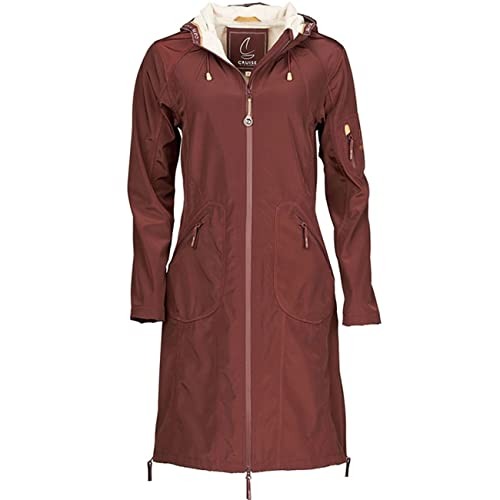 Cruise Raincoat Bordeaux