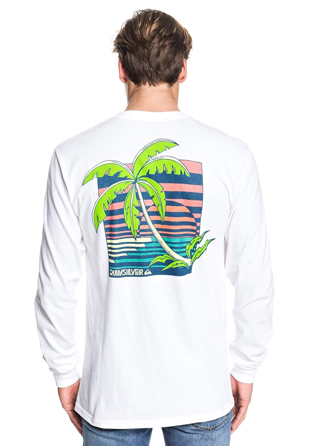 Quiksilver Mens in The Jungle Long Sleeve Tee