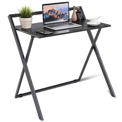 Amazon.com: Tangkula - Mesa plegable pequeña, escritorio ...