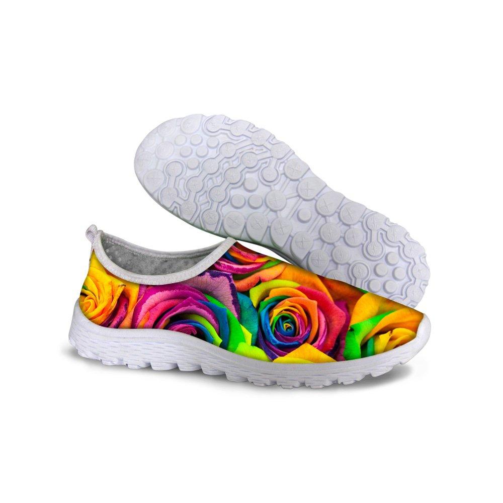 Piup Zapatos para Mujer Cool Graffiti para natación, Playa ...