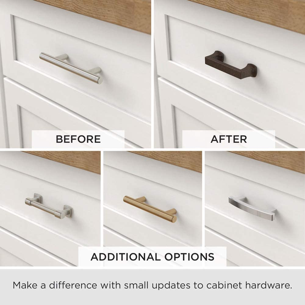 Liberty 62273sn 5 1 16 Kitchen Cabinet Hardware Drawer Handle Subtle Arch Pull Satin Nickel Cabinet And Furniture Pulls Amazon Com