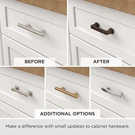 Liberty P02114c Ss C 13 Inch 330mm Center To Center Flat End Cabinet Hardware Handle Bar Pull Cabinet And Furniture Pulls Amazon Com