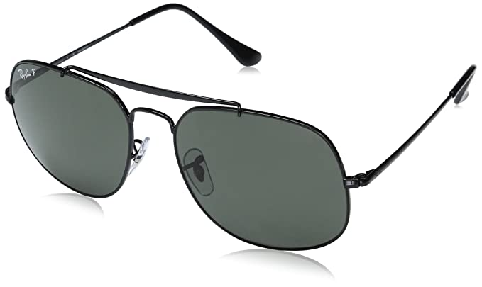 4dca64d8639 Amazon.com  Ray-Ban Men s Steel Man Sunglass Polarized Square