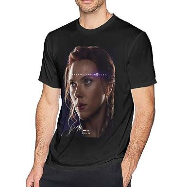 Amazon Com Design Avengers Black Widow Short Sleeve T