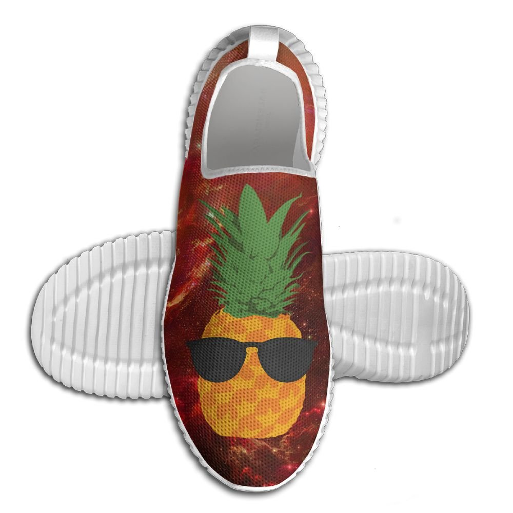 Pineapple Glasses Lightweight Breathable Casual Running Shoes Fashion Sneakers Shoes