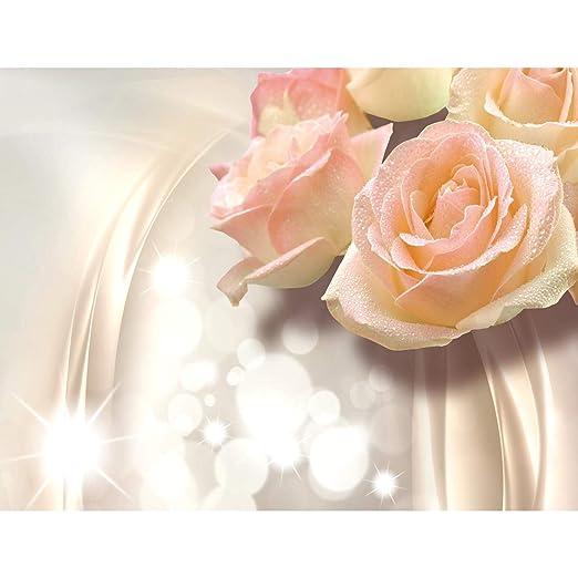 Papel Pintado Fotogr/áfico Flores rosas 308 x 220 cm Tipo Fleece no-trenzado Sal/ón Dormitorio Despacho Pasillo Decoraci/ón murales decoraci/ón de paredes moderna 100/% FABRICADO EN ALEMANIA 9129010b