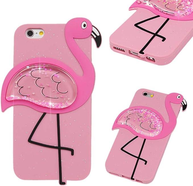 Coque Pour Iphone 6s Motif Animal Paillettes Kawaii