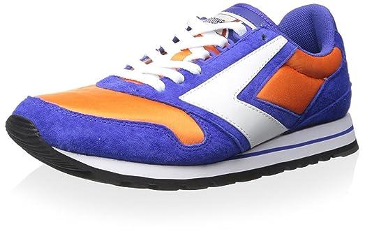 Brooks Heritage Men's Chariot Sneaker, Royal Blue/Bright Orange/White, 10 M