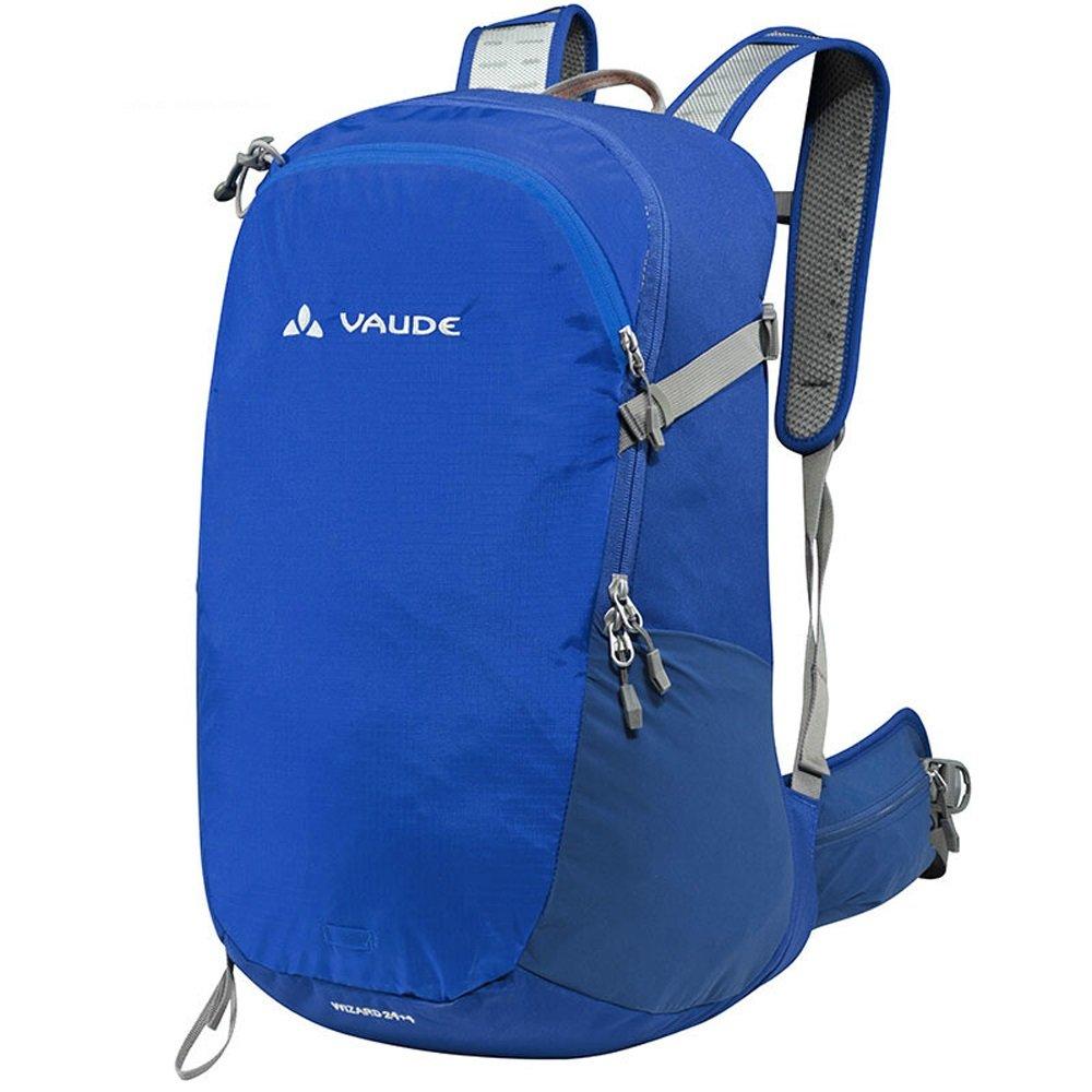 屋外多機能防水ハイキングバックパック、耐摩耗性ナイロントラベルレジャーパッケージキャンプ用リュックサック、ユニセックス通気性ナップザック、スクールバッグ(青)   B079DQGLZK