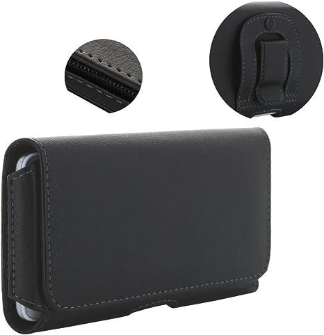 Quer Handy Tasche Gürteltasche Portemonnaie für Samsung Galaxy A20e