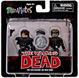 MiniMates - The Walking Dead Series 4 - Riot Gear Governor & Biker Zombie