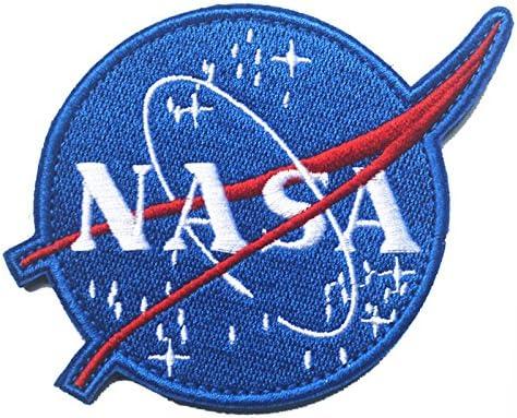 Oyster-Patch 4/Pcs 100/ème NASA Space Shuttle Mission Tactique Patch