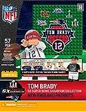 Tom Brady 5x Collection NFL OYO New England Patriots Super Bowl LI Gen 4 G4 Mini Figure