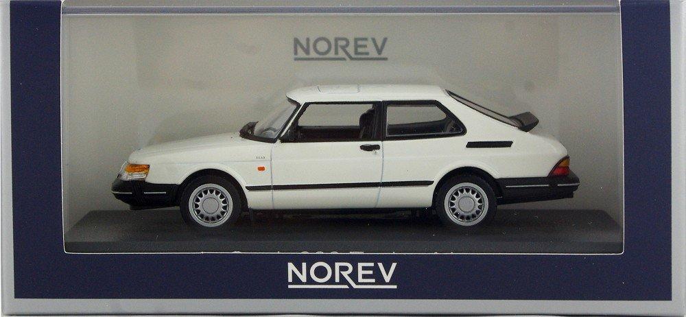Norev 810032 - Saab 900 Turbo 16 - 1991 - Escala 1/43 - Color blanco: Norev: Amazon.es: Juguetes y juegos