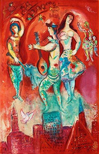 Marc Chagall - Carmen, Poster art print wall d?cor