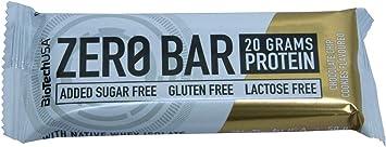 BioTech USA - Zero Bar, 10 x 50g Galletas con chispas de chocolate