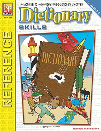 Read Online Beginning Dictionary Skills (Grade 1-3)  Reproducible Activity Book pdf