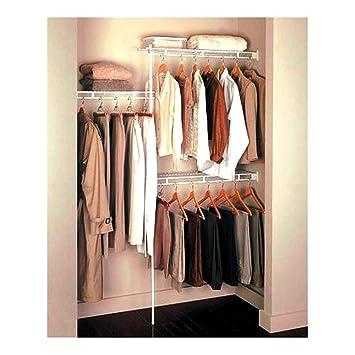 Rubbermaid Closet Organizer 3u0027   5u0027   White