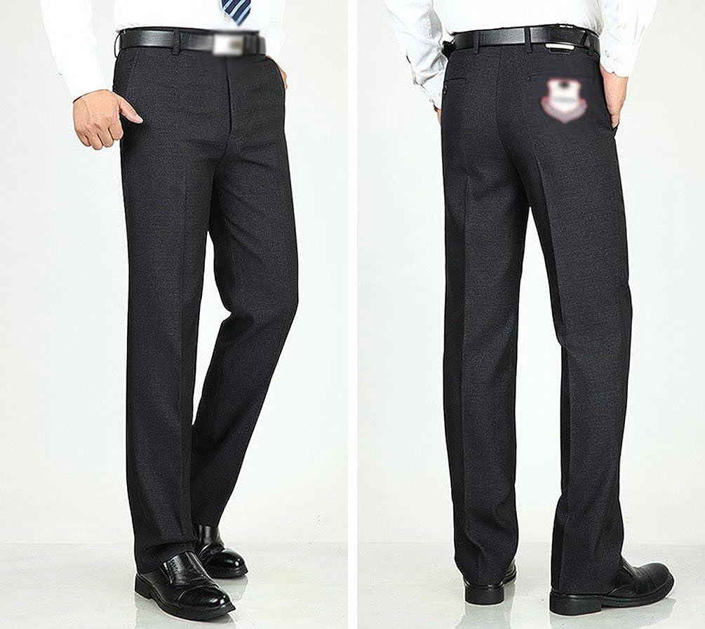 1bf856de8f WanYang Otoño E Invierno Hombre Espeso Pantalones Casuales Hombres Elegante  Moda Pantalones Clásico De Traje  Amazon.es  Ropa y accesorios