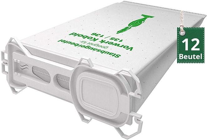 24 sacs pour Aspirateur Filtre sacs pour vorwerk kobold 135 sc aspirateur de sol