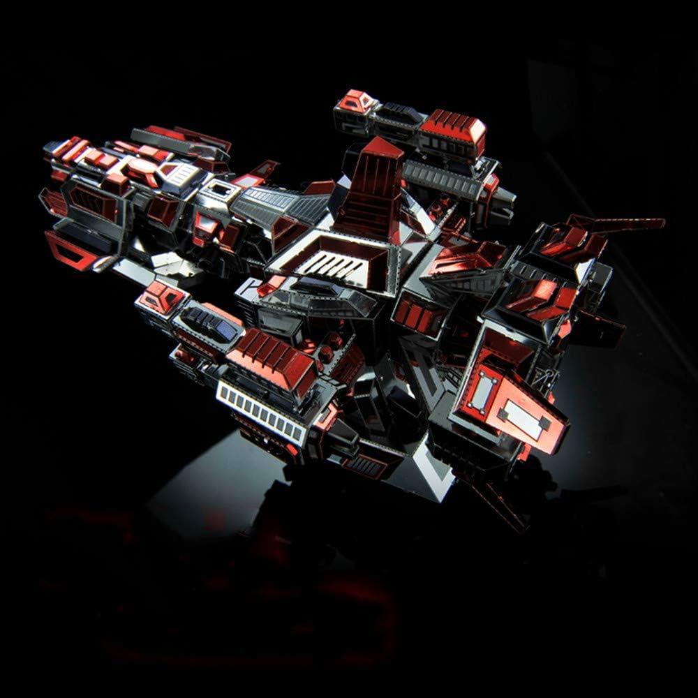 MQKZ Juego de Modelos de Metal ensamblado y Rompecabezas 3D / Star ...