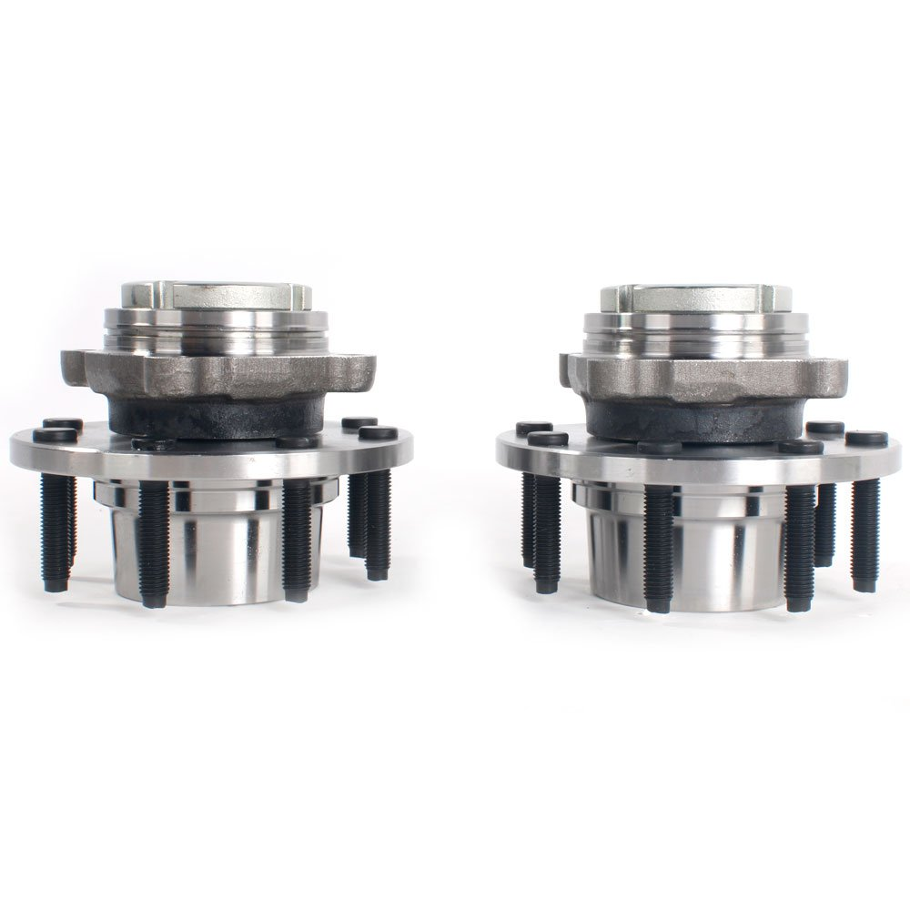 Set of 2 Front Wheel Hub & Bearing Left or Right Pair Set for 99-01 Ford F-250 F-350 Super Duty, 8 Lug 4WD 4x4 by Autoforever (Image #1)